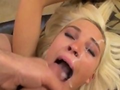 cum sperm in face compilation               by   oopscams
