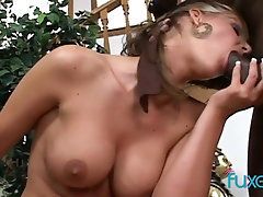 Ferocious and hot PAWG Phoenix Marie bounces her phat ass on her BF's BBC
