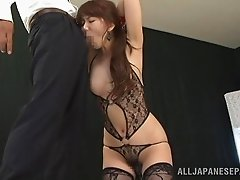 Perfect Asian Girl Gives Blowjob