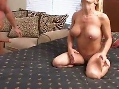 Slutty Mandy gets fucked rough after taking sunbathes