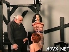Neat sweethearts hard sex in thraldom extreme show