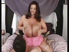 Massive Tit MILF In Stockings Loves Cock