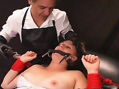 Cum Slut In Training ELECTROFIED Slave!