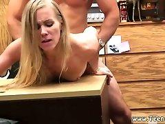 Milf anal threesome vintage Blonde stupid attempts to