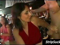 Hot party chick wants stripper cum