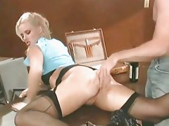 Hannah Harper gets Butt Fucked