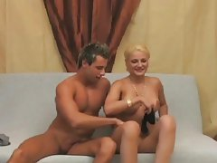 blonde hotty amateur couples at home - csm